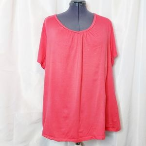 George Coral Top Size 4X